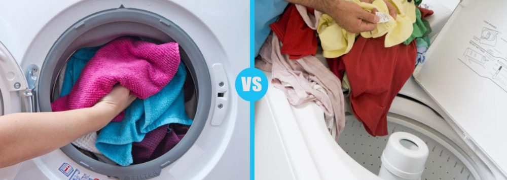 Top loader vs front loader washing machine