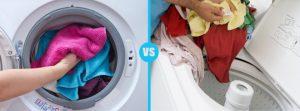 Top loader vs front loader washing machine