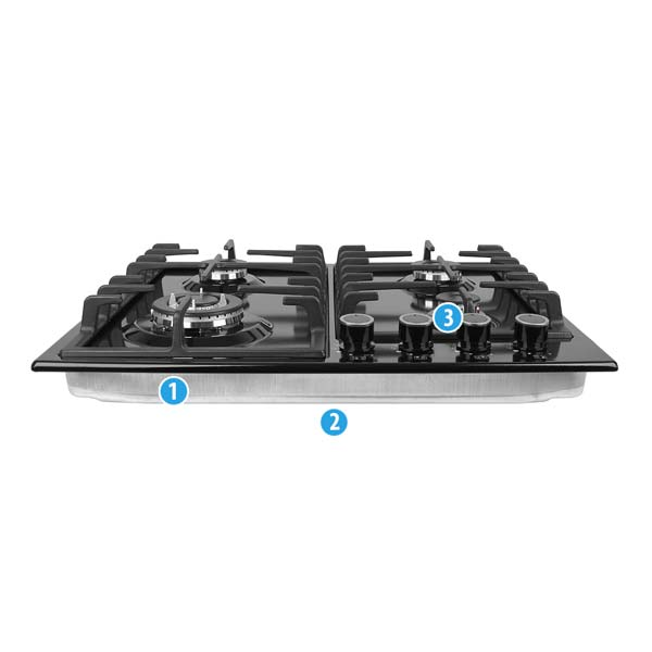 Cooktop Model Number Locations