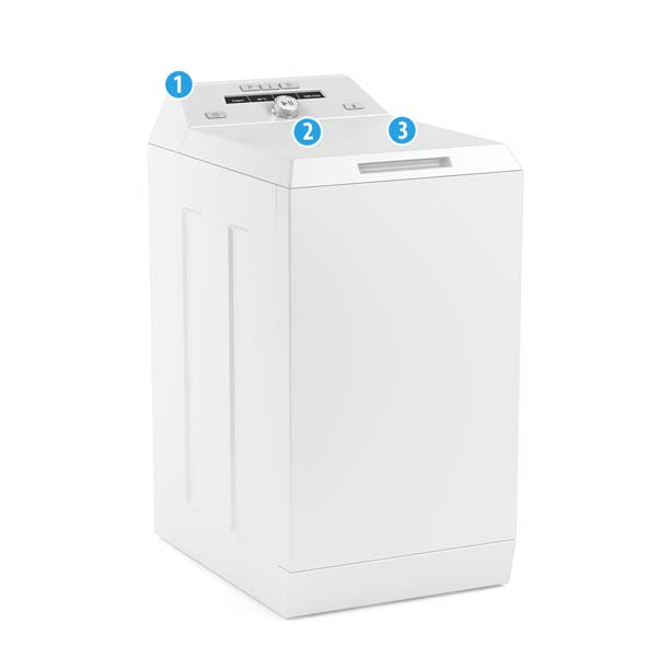 Washing Machine Model Number Locations